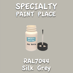 RAL 7044 silk grey 2oz bottle with brush