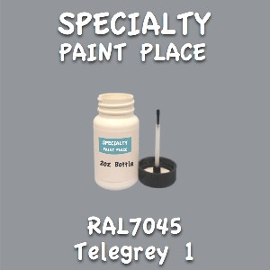 RAL 7045 telegrey 1 2oz bottle with brush