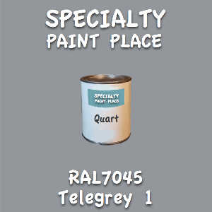 RAL 7045 telegrey 1 quart