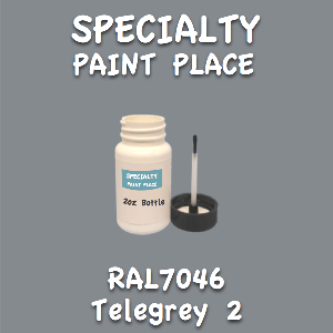RAL 7046 telegrey 2 2oz bottle with brush
