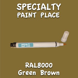 RAL 8000 green brown pen