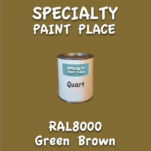 RAL 8000 green brown quart
