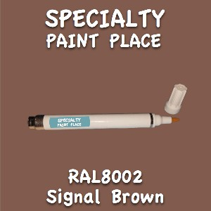 RAL 8002 signal brown pen