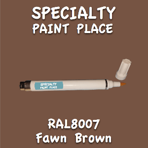 RAL 8007 fawn brown pen