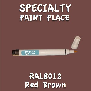 RAL 8012 red brown pen