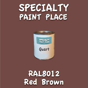 RAL 8012 red brown quart