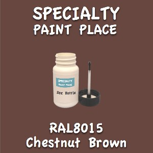 RAL 8015 chestnut brown 2oz bottle with brush