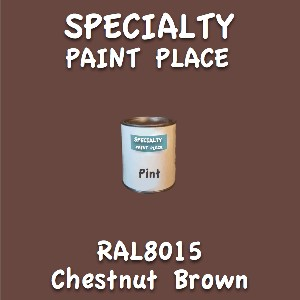 RAL 8015 chestnut brown pint