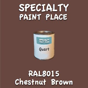 RAL 8015 chestnut brown quart
