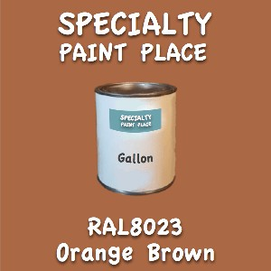 RAL 8023 orange brown gallon