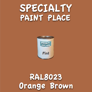 RAL 8023 orange brown pint