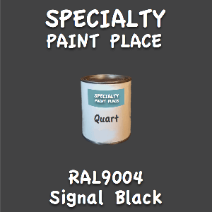 RAL 9004 signal black quart