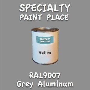 RAL 9007 grey aluminum gallon