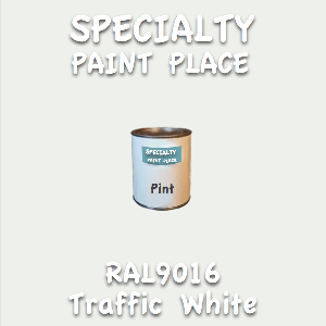RAL 9016 traffic white pint